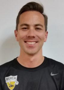 Beach FC club soccer coach Jesse Oakes