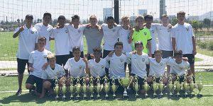 team photo Beach FC Champs B04 ECNL - NHB Cup