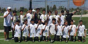 Team photo Beach FC Champs B05 ECNL - NHB Cup
