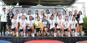 team photo Beach FC LB G04 Rossi national presidents cup finalists