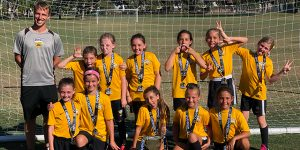 team picture beach fc girls 2009 sudyka champions pats cup