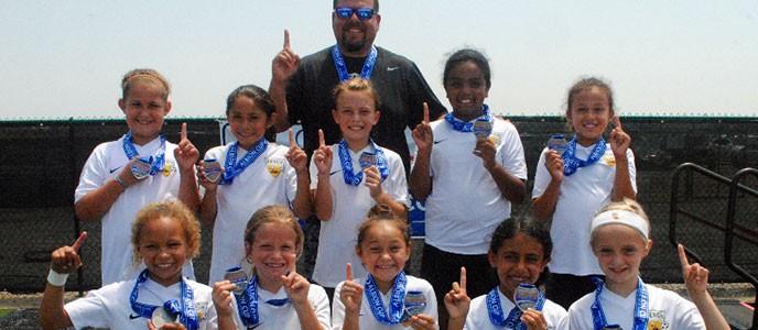 Beach FC club soccer Nunes G08 champions