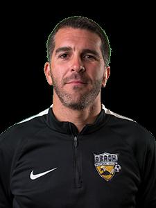 head shot arrache Beach FC club soccer coach