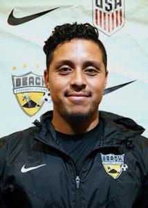Picture of Kevin Pineda Beach Futbol Club soccer coach