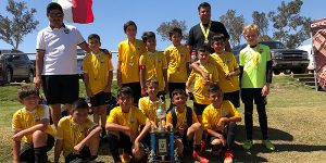 team photo Beach FC LB B07 Gutierrez champions SWSC Summer Classic