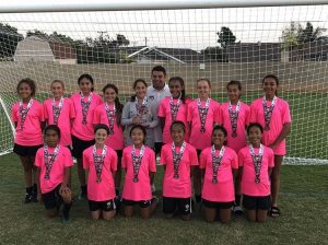 team photo beach fc g06 rodriguez players challenge cup