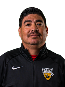 head shot gutierrez Beach FC club soccer coach