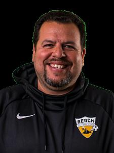 Marroquin head shot Beach FC club soccer coach