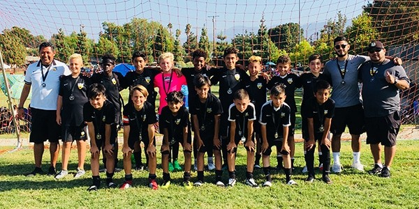 team picture of FINALISTS BEACH FC LB b06 rocha - socal elite labor day classic