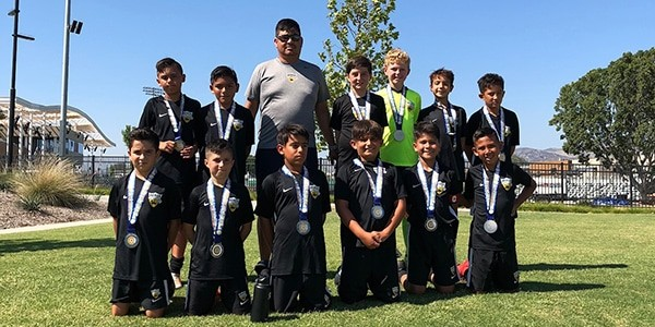 team picture FINALISTS beach fc lb gutierrez b07 lagoc summer invitational