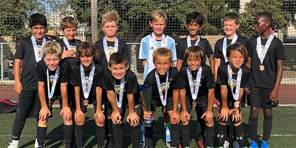 team picture beach fc sb b08 dold boys club soccer finalists south bay coastal classic