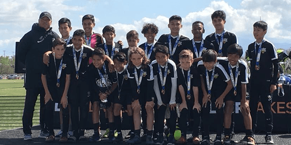 picture of Beach FC B05 ECNL champions socal winter cup boys club soccer