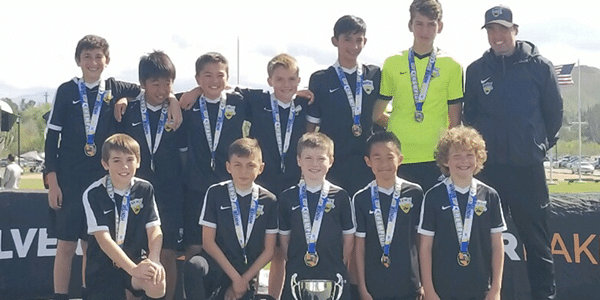 Beach FC SB B05 Milner champions SoCal Winter Cup boys club soccer