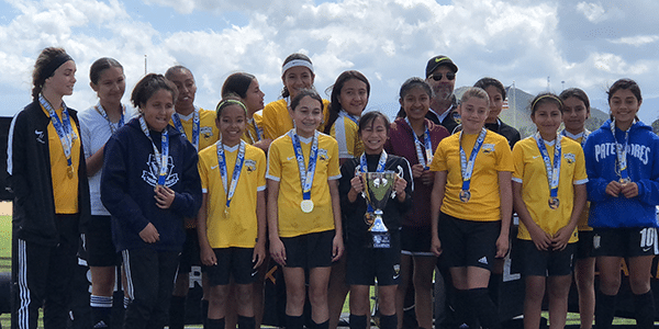 Picture of Beach FC SB G05 Hansen socal winter cup champions girls club soccer