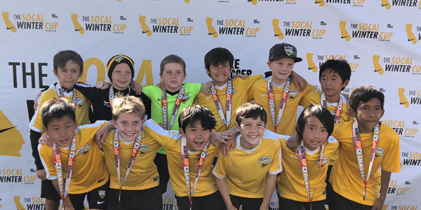 Beach FC SB B07 Kirk finalists boys club soccer socal winter cup