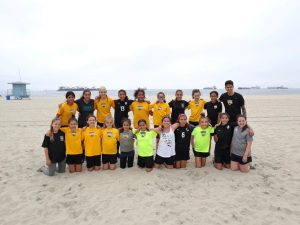 Beach FC LB G05 and G06 Isaac Ayala girls club socccer