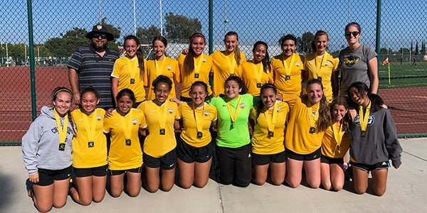 Team photo of Beach FC LB G03 Marroquin Surf City Finalists