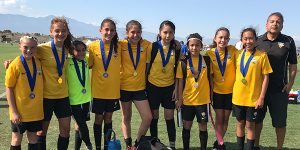 Team picture of Beach FC SB G06 Torres Finalists OC Surf Invitational