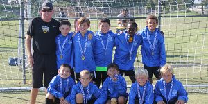 team photo beach fc south bay boys 2009 kirk champions west coast futbol classic