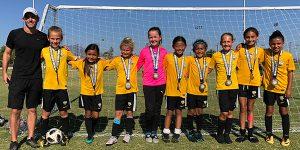 team photo beach fc club soccer south bay caldwell g09 lagoc finalists