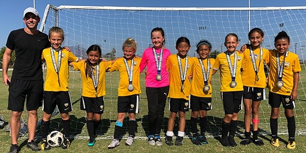 team photo beach fc club soccer south bay caldwell g09 lagoc finalists