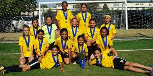 team photo with trophy CHAMPIONS a perez g07 fclb invitational
