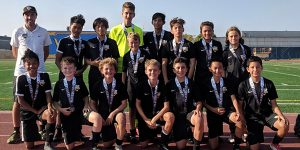 team photo beach fc club soccer champions B05 milner players challenge cup