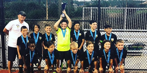 team photo beach fc club soccer champions B07 DOLD carlsbad coastal classic