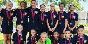 team photo Beach FC Champs LB G06 Perez - Irvine World Cup Showcase