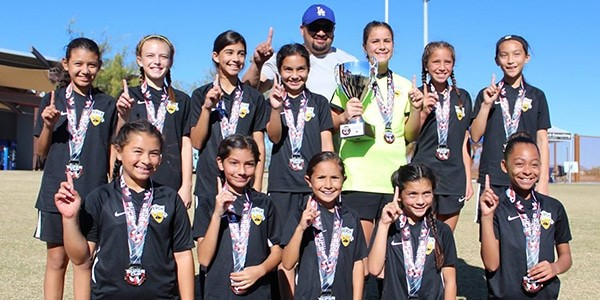 team photo beach fc champs G07 perez desert super cup
