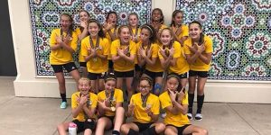 team photo of Beach FC SB G07 Delury Swallows Cup