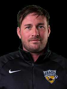 head shot Liam Delury Beach FC club soccer coach