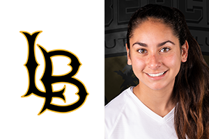 headshot of Cherrie Cox Beach FC club soccer player and Long Beach State Soccer commit