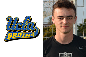 head shot Grayson Doody of Beach FC and UCLA